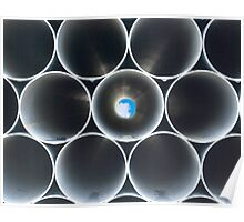 Pipes with a View Poster