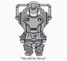 Cyberman Chibi Kids Clothes