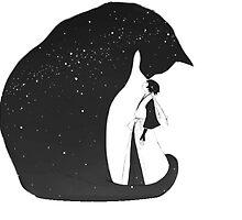 Soi Fon & Yoruichi Cat by AlfredKamon
