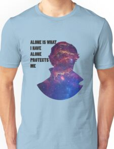 Alone Protects Me Unisex T-Shirt