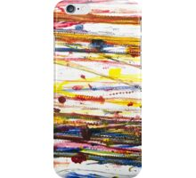 Colorful tracks  iPhone Case/Skin