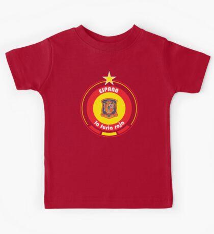 World Cup Football 8/8 - Team Espana Kids Tee