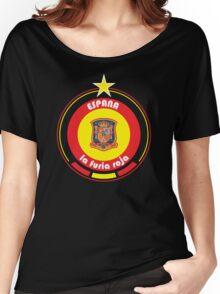 World Cup Football 8/8 - Team Espana Women's Relaxed Fit T-Shirt