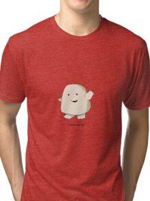 Adipose Chibi Tri-blend T-Shirt