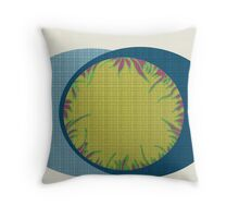 Spiral Weave Garden  Throw Pillow