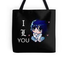 Death Note L Tote Bag
