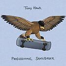 Tony Hawk, Professional Skatebirder by Katie Corrigan