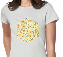 Yellow Jonquils Womens Fitted T-Shirt