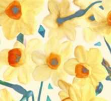 Yellow Jonquils Sticker