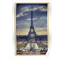 Eiffel Tower Vintage Poster