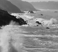 Crashing Waves by CherylBee