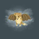 Vampire Puppy Bat by Katie Corrigan