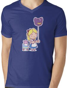 Little Alice Mens V-Neck T-Shirt