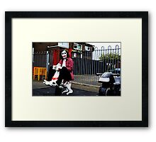 Joker's Day Off #1 Framed Print