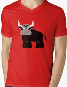 Bull Mens V-Neck T-Shirt