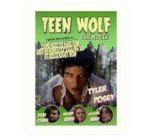 Teen Wolf Old Comic Art Print