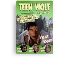 Teen Wolf Old Comic Metal Print