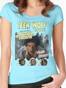 Teen Wolf Old Comic Women's Fitted Scoop T-Shirt