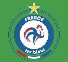 World Cup Football 7/8 - Team France Kids Tee