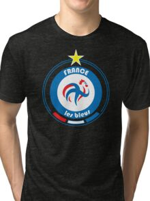 World Cup Football 7/8 - Team France Tri-blend T-Shirt