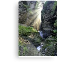 Heaven's Light In Watkins Glen Canvas Print
