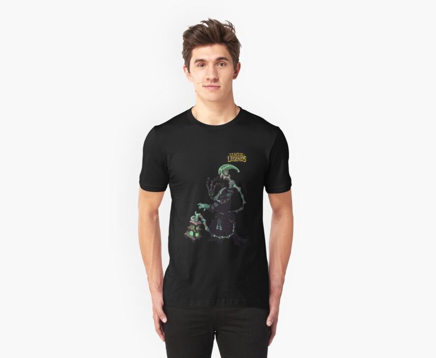 League of Legends Thresh by JellyBeanie