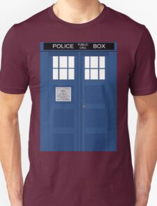 Tardis Greeting Card Unisex T-Shirt