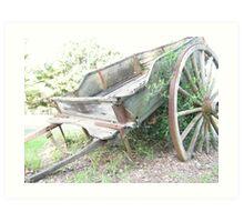Wagon. Art Print