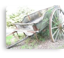Wagon. Metal Print