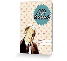 John Watson Valentine's Day Card Greeting Card