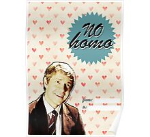 John Watson Valentine's Day Card Poster
