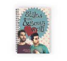 Stiles & The Sour Wolf Spiral Notebook