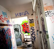Locker Room Chaos! by pennphotography