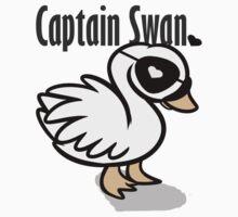 Captain Swan - Illustration  Kids Clothes