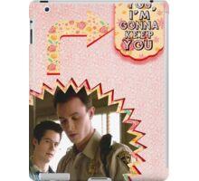 My Teenwolfed Valentine [I Like You, I'm Gonna Keep You] iPad Case/Skin