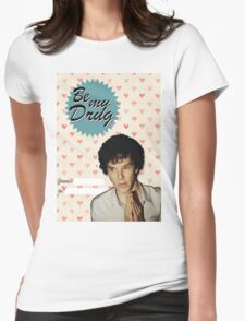 Sherlock Valentine's Day Card Womens Fitted T-Shirt