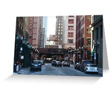 Living In Chicago Greeting Card
