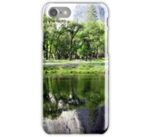 Reflection of the Base of El Capitian iPhone Case/Skin