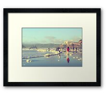 Cloudy Daze Framed Print