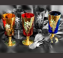 Venetian Glass by Trudy Wilkerson