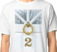 Knock At Number 2 Classic T-Shirt