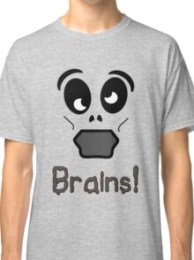Zombie Brains by 'Chillee Wilson' Classic T-Shirt