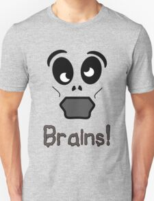 Zombie Brains by 'Chillee Wilson' T-Shirt