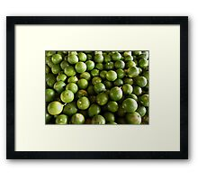 Limes and more limes Framed Print