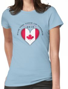 love of games Womens Fitted T-Shirt