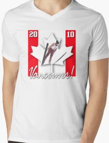 ski games vancouver Mens V-Neck T-Shirt