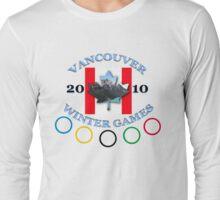 vancouver land flag Long Sleeve T-Shirt