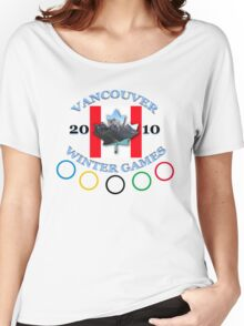 vancouver land flag Women's Relaxed Fit T-Shirt