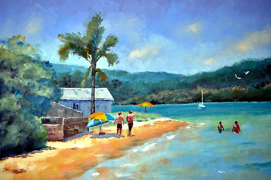 Emerald Summer-Booker Bay NSW by David McDougall