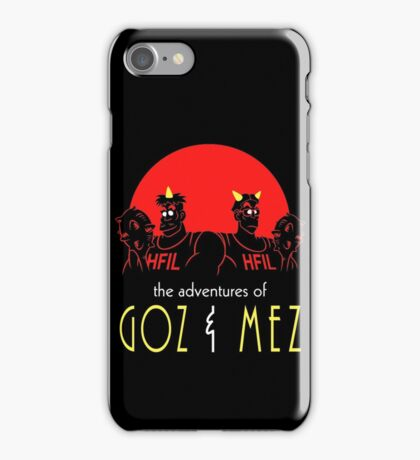 Hell adventures iPhone Case/Skin